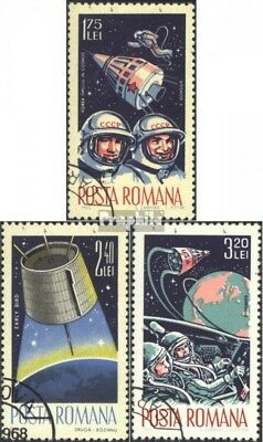Romania 2427-2429 (complete issue) unmounted mint / never hinged 1965 World Spac