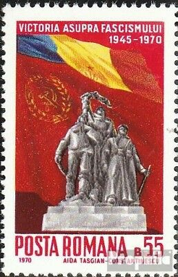 Romania 2836 (complete issue) unmounted mint / never hinged 1970 Anniversary of