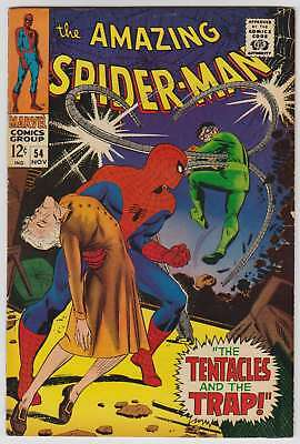 L7082: Amazing Spiderman #54, Vol 1, F/VF Condition