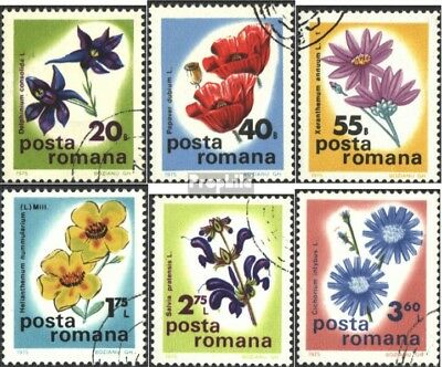 Romania 3285-3290 (complete issue) unmounted mint / never hinged 1975 Wildflower