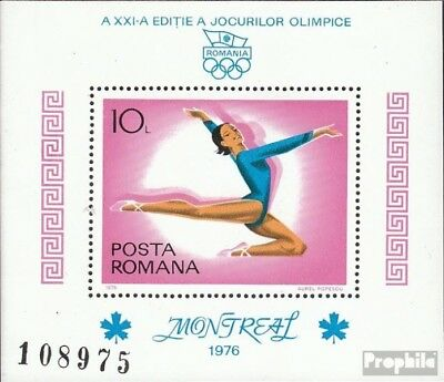 Romania block135 (complete issue) unmounted mint / never hinged 1976 Olympics Su