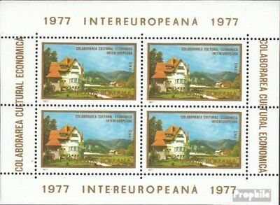 Romania block141 (complete issue) unmounted mint / never hinged 1977 INTEREUROPA
