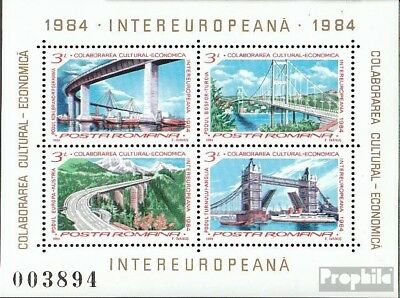 Romania block203 (complete issue) unmounted mint / never hinged 1984 INTEREUROPA