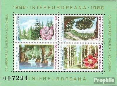 Romania block224 (complete issue) unmounted mint / never hinged 1986 INTEREUROPA