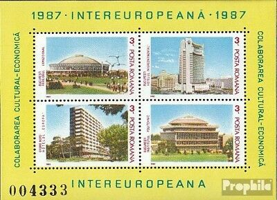 Romania block231 (complete issue) unmounted mint / never hinged 1987 INTEREUROPA