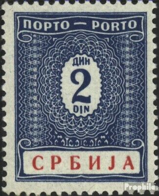 Serbia (German.cast.2.world.) P10 unmounted mint / never hinged 1942 Postage sta