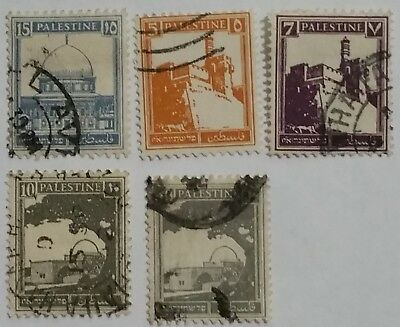 Palestine Used Stamps Scu261Ms  ....worldwide Stamps