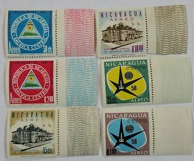 Nicaragua Unused Stamps Scu235Bc...worldwide Stamps