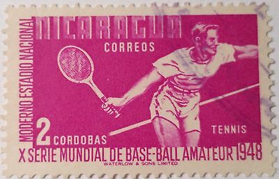 Nicaragua    Used Stamp Scu222Bb ..worldwide Stamps