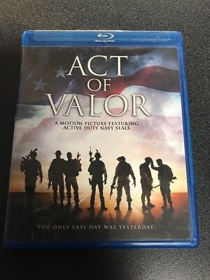 Blu Ray Act of Valor Blu-ray