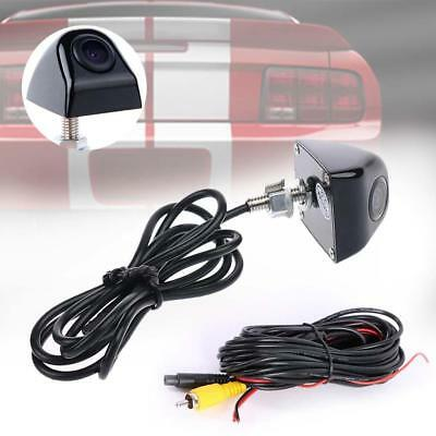 Black 170 DG Anti Fog Waterproof Backup Night Vision Car Rear View Camera Kit GJ