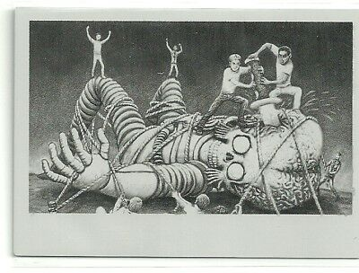 2017 Topps Mars Attacks The Revenge Printing Plate #43 Overpowered #ed 1 of 1