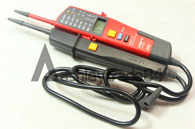 UNI-T Auto Range Voltage and Continuity Tester UT18C with LCD/LED Indication Dat