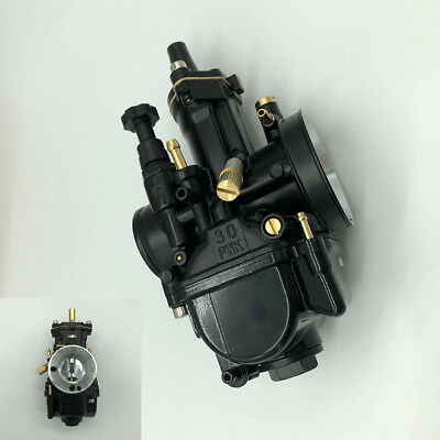 Durable Black Motorcycle 30mm Carburetor Racing Part For OEM Replacement Carb