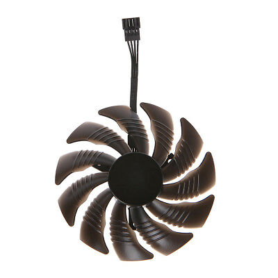 T129215SU Graphics Card Cooling Fan 88mm For Nvidia Gigabyte GTX Aorus-Clockwise
