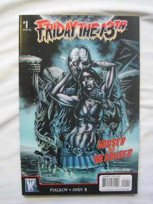 """FRIDAY the 13th : """"ABUSER & the ABUSED"""", ONESHOT, COMPLETE STORY. WILDSTORM.2007"""