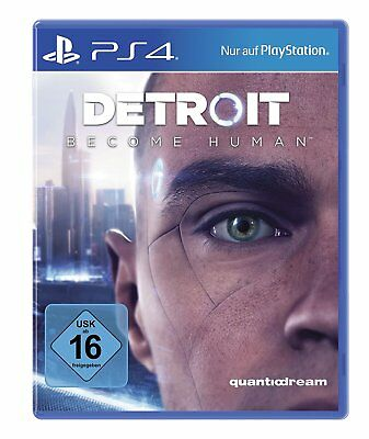 Detroit - Become Human      PS4         Playstation 4       !!!!! NEU+OVP !!!!!