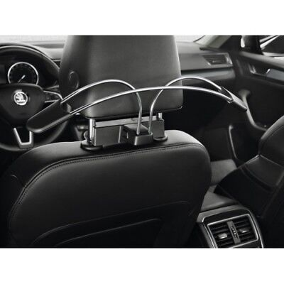Original Skoda Smart Holder-Kleiderbügel Octavia, Superb,Karoq, Kodiaq 3V0061127