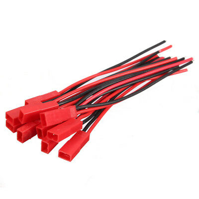10cm Male+Female JST Connector Plug Cable Line for RC BEC Lipo Battery S