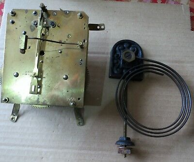 Old German 15cm Striking Clock Movement for Spares