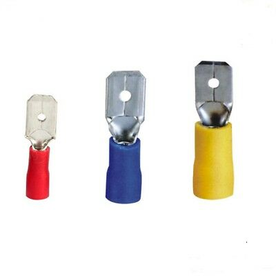 Crimp Terminals Insulated male Tab  (Red Blue Yellow) (2.8 - 4.8 - 6.3mm) WT