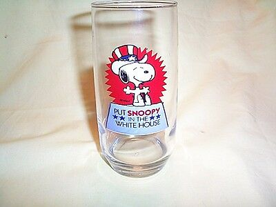 Snoopy Glass In The White House 6 In Tall
