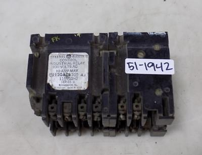 General Electric 10Amp Industrial Relay Cr120A03302