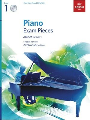 ABRSM Piano Exam Pieces Book & CD 2019 - 2020, Grade 1