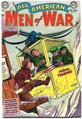 All American Men Of War # 10 Pre Code War 1954 Dc-- Fn/vf