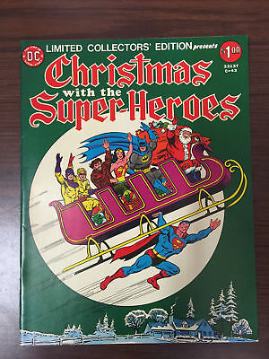 Limited Collectors' Edition Christmas with Super-heroes #C-43 1976 Treasury