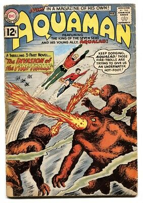 Aquaman #1 1962 comic book 1st issue DC key issue Silver Age