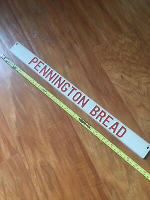 Pennington Bread Vintage Door Sign RARE