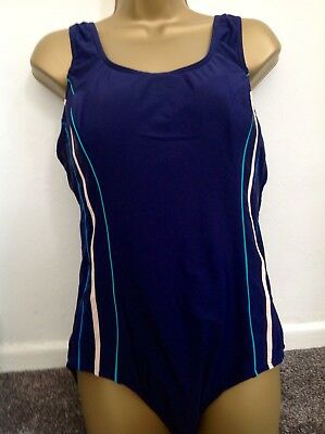 Matalan Ladies Swimming Costume With Tummy Supportblack Mix Colour