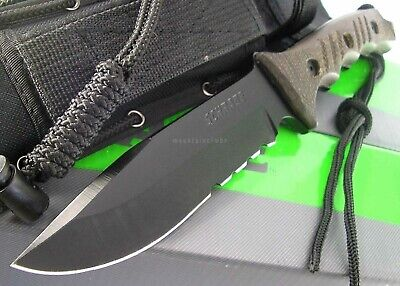 Schrade Extreme Survival Tactical Bowie Full Tang 5 mm Thickness Knife SCHF3