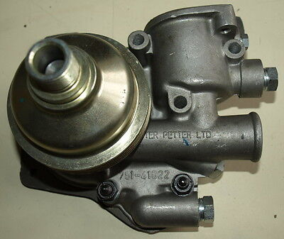 Lister Alpha LPW LPWS New Water Pump with Backplate 751-41022 750-40624 UK Stock