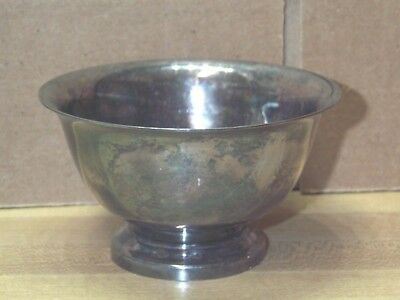Vintage Reed Barton Paul Revere Design Silver Plate Small Bowl