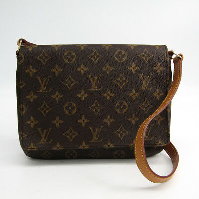 53864a04edff Louis Vuitton Monogram Musette Tango Short Strap M51257 Shoulder Bag Mo  BF322437