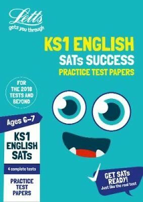 KS1 English SATs Practice Test Papers 2019 by Letts KS1 9780008278083