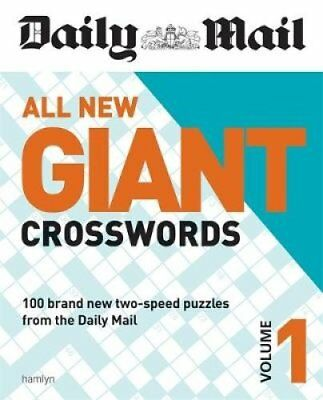Daily Mail All New Giant Crosswords 1 by Daily Mail 9780600632696