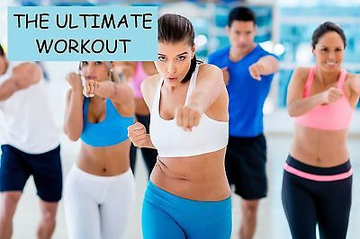 Pump It Up ~The Ultimate Power Dance Workout ~ dance music DVD,aerobic exercise