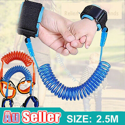 Kids Toddler Baby Safety Anti-lost Wrist Link Strap Harness Leash Hand Belt Rope