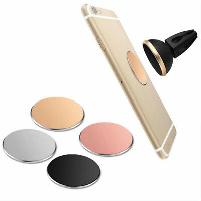 Metal Plate Matte Surface Sticker For Magnetic Car Mount Phone Holder Stand