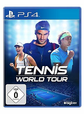 Tennis World Tour PS4 PLAYSTATION 4 Nuovo + Conf. Orig.