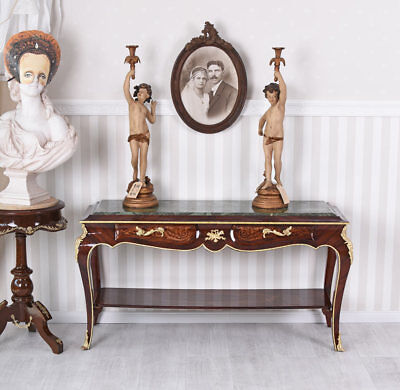 Sideboard Table Baroque Console Table Inlaid Wall Table Sideboard Table Console