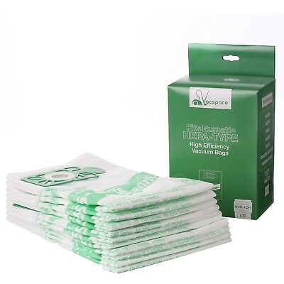 10 x Bags For Numatic Henry Hetty James Filter FLO Vacuum Cleaner Hoover Bags