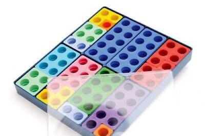 Numicon: Box of 80 Numicon Shapes 9780198487272 (Toy, 2001)