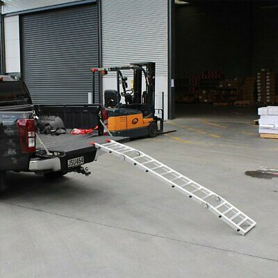 WHITES 011 ALLOY TAILGATE RAMP FOLDING 223X35cm 318kg rated