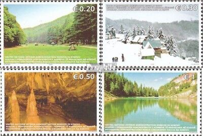 kosovo (UN-Administration) 54-57 mint never hinged mnh 2006 Tourism