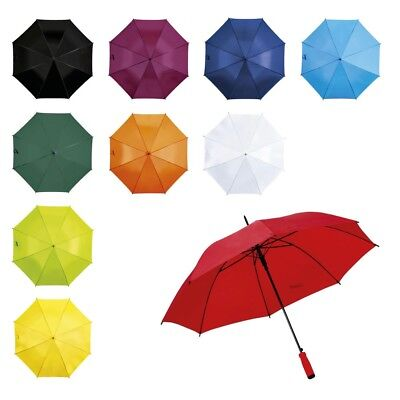 """Large Colourful Golf Style 37"""" Automatic Umbrella - Walking Theatre Show Wedding"""