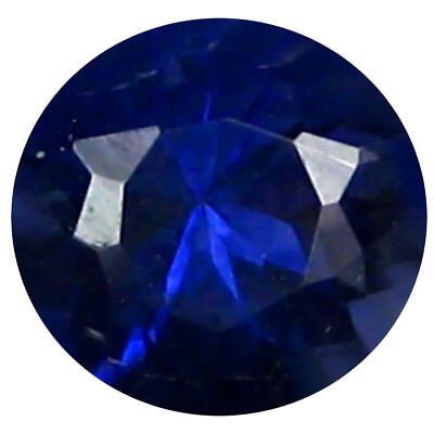 0.40 ct AAA Eye-popping Round Shape (5 x 5 mm) Iolite Natural Loose Gemstone